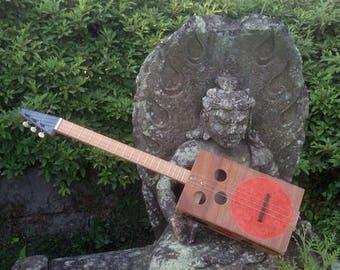 Japanese Fish Box three string guitar