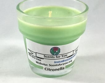 Citronella Votive Cup Candle