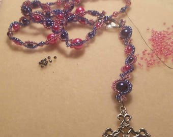 2 colored Rosary Beads