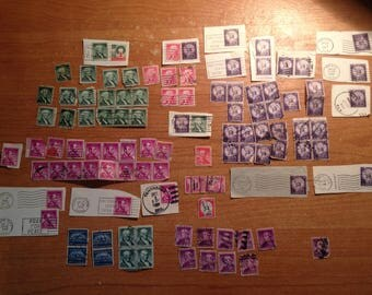 Old Used Stamps