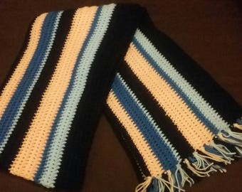 Warm and cozy winter scarf