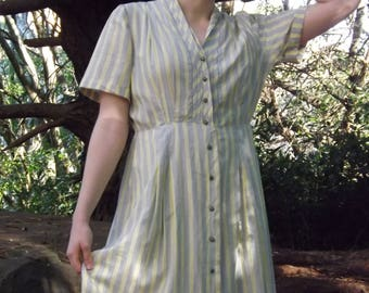 Vintage 30s cotton dress