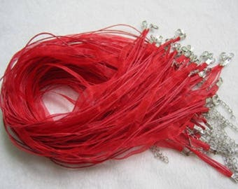 Red Ribbon Cords