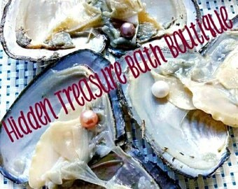 Oysters with pearls inside