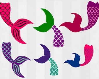 mermaid tail clipart etsy