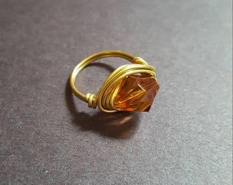 simple bead ring