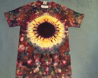 "tie dye t-shirt adult small""eclipse starfield"""