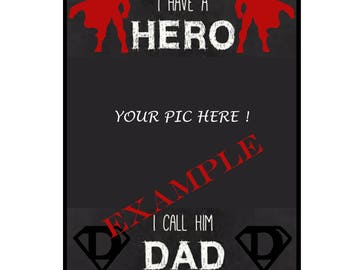 Digital download- Personalised Fathers day gift