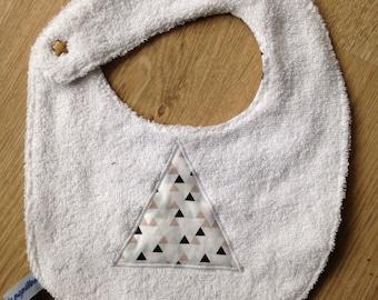 """Bib """"triangles"""" 12/36 months"""