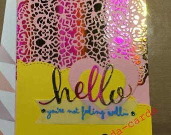 Bright, Cheery Get Well Card