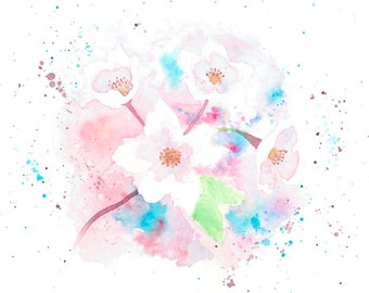 Series Flores.1. postal