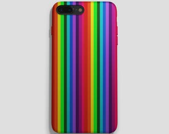 Rainbow Phone Case, iphone 6 case, 6s,6sPlus,iphone 6 plus case, iphone 7 case, iphone 7 plus case