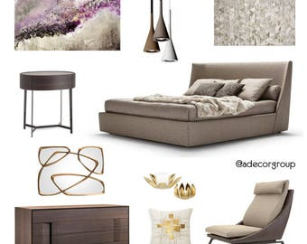 Interior Design, eDesign, Design board &  Home Decor