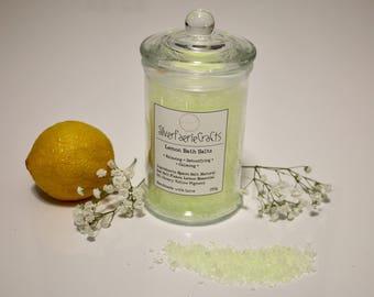 Lemon Scented Bath Salts