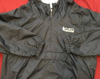 Cutco hooded windbreaker jacket