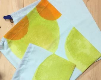 100% reusable eco-friendly cotton produce/bulk bags zero waste farmer's market bags
