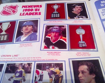 N.H.L. 1980-81  Opee Chee Sticker Book Complete.