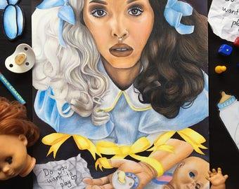 Melanie Martinez Pacify Her drawing