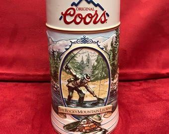 Coors Beer Stein 1993 #97128
