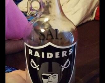 "HOWLER ""half gallon"" jug with logo..  Name if preferred"