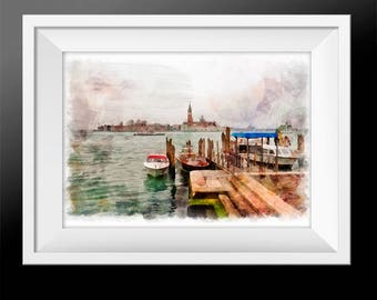 Venice, Italy. Wall Art Prints, Set of 3 Prints. photography set, nature, travel, collection