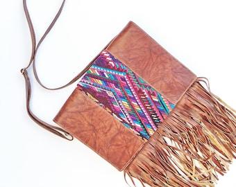 Vintage Hupil Fringe Bag
