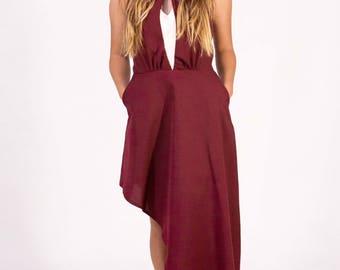 Precious. Asymmetrical dress