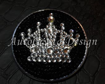 PROMO!!! Individual CROWN Boot & Bonnet Badges Covered With High Quality Crystals for BMW Swarovski