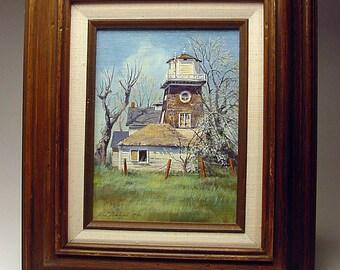 Listed 1980 Carson City Nevada Artist Loretta Lee Netzel exhibited Acrylic on Board Impressionism