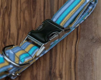 Yellow, Grey, and Blue Skies Collar