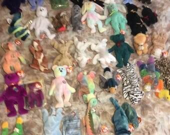 Rarest Collection set of Beanie Babies