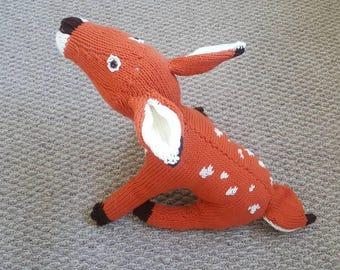 Handmade stuffed deer