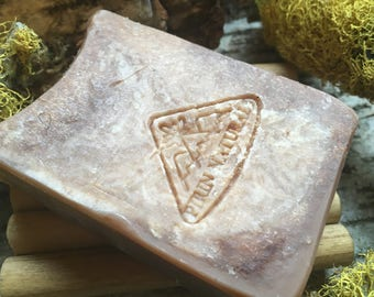 Clay and Cocoa Butter Natural Soap – Coconut Caramel