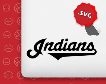 cleveland svg, indians svg, cleveland indian svg, cleveland fans svg, cleveland team mbl, indians baseball, cleveland svg file