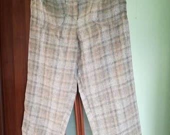 Handmade linen pants