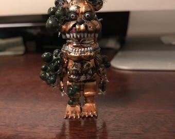 Twisted Freddy custom McFarlane nightmare mini figure