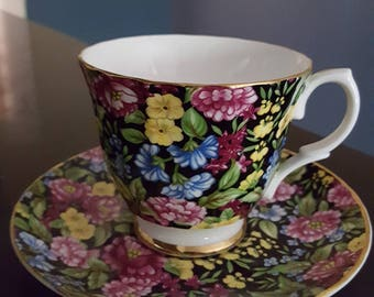 Fine China tea cup and saucer