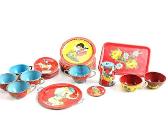 Vintage Children's Tea Set