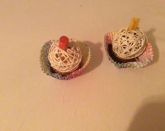 The cute little cupcake