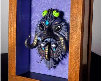 Mask, Original, Wood art,