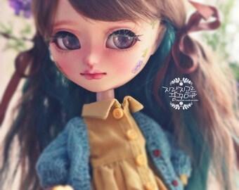 OOAK Pullip doll/ Pullip custom doll/ Pullip doll custom/ Pullip Isul