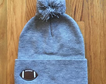 SPORTS BALL beanie (Any color & style from any of my other listings available!!)
