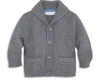 Boys shawl cardigan