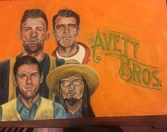 Avett Brothers Pastels