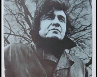 Cash, Johnny 1973 Johnny Cash & His Woman UK 10-Page Tour Program