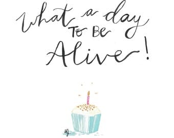 Melodie's Birthday Card