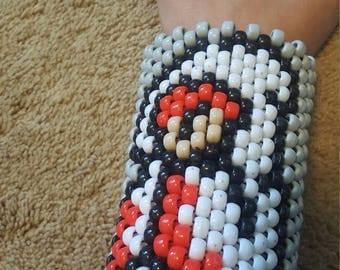 FF1 white mage kandi cuff