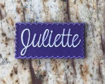 Juliette Juliettes IRM IRG Independent Fun Patch Embroidered Emblem