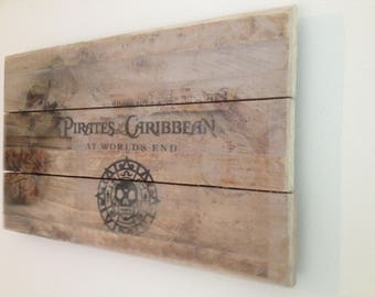 Pirates of the Caribean picture prop