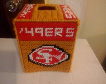 Sanfrancisco49ers  Tissue Box Cover